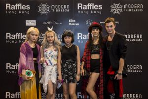 Raffles Hong Kong Wowed in Style at the 2014 Hong Kong Fashion Week