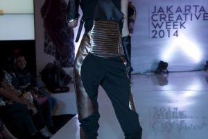 Raffles Jakarta 's Graduation Collection Preview at the 2014 Jakarta Creative Week