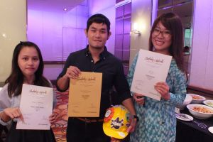 Raffles Graphic Designers Bagged Multiple Awards at the 2014 Safety@Work Creative Awards
