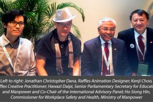 Raffles Designers Outshone Industry Professionals at the International Media Festival for Prevention