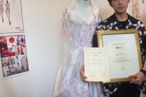 Showcasing The Talent Of Raffles Fashion Designers In 2014 Japan Creative Centre Sustainable Fashion Design Contest