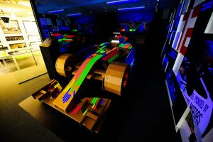 Light It Up! A Modern Twist To Formula One Car For 2014 Grand Prix Singapore By Raffles Designers