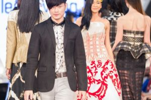 Raffles Fashion Designer Leslie Yong Stole The Show At Ciputra World Fashion Week 2014