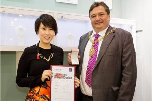 Raffles Designer Winnie Lestari Won The F. Hinds High Street By Design Competition 2014