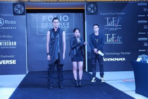 Raffles Fashion Designers Joe Spinelli, Mai Takemori, Paul Nathaphol and Firdaus Aris Rose To The Challenge At Men's Folio Designer Of The Year 2014