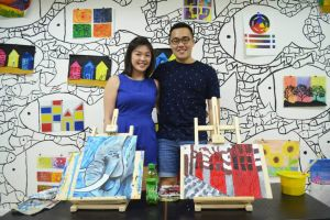 Launch of Artify Studio and DRM'R Clothing By Raffles Designers Tay Hui Jie and Zac Ong