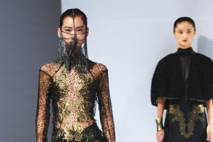 TAKING CENTRE-STAGE AT SHANGHAI FASHION WEEK