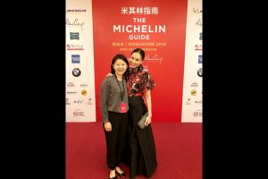 DRESSED FOR THE MICHELIN GUIDE SINGAPORE 2018 STAR REVELATION AND GALA DINNER