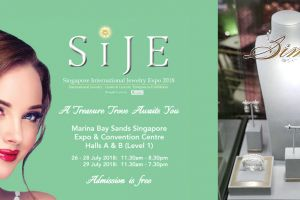 RAFFLES SINGAPORE SHINES WITH SIMONE JEWELLERY AT SINGAPORE INTERNATIONAL JEWELLERY EXPO 2018