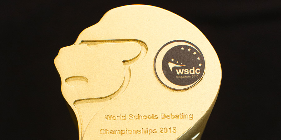 112 Designing For World Schools Debating Championship 2015