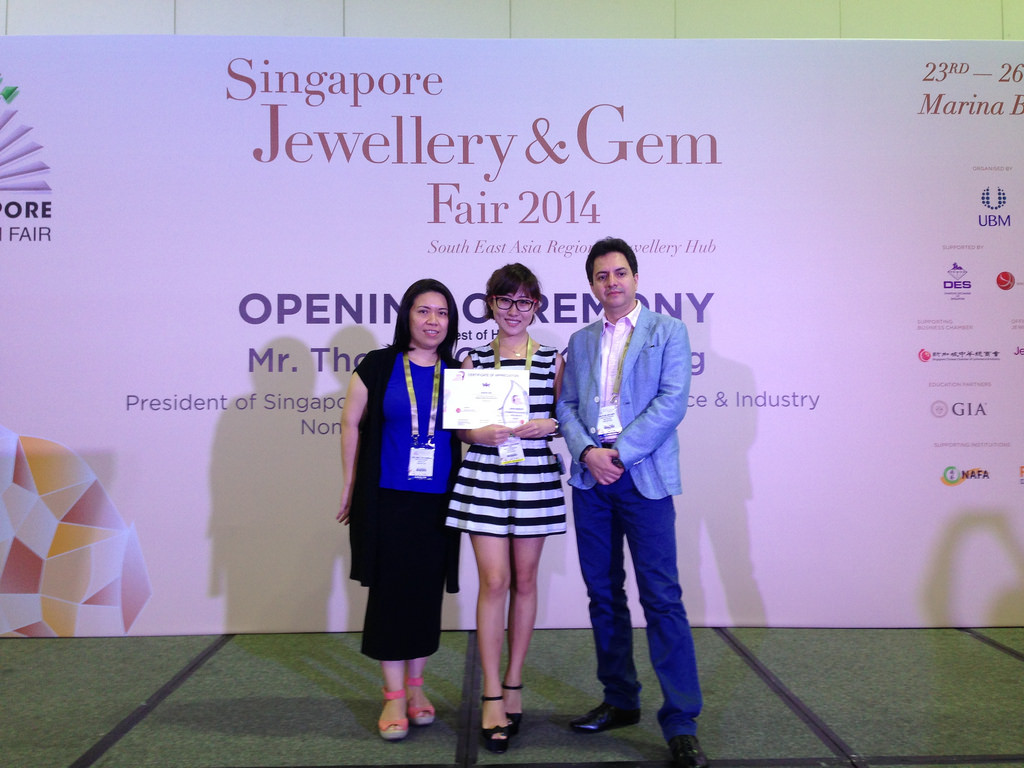 21822888608_09559a6f13_b Raffles Jewellery Designer Summer Yang Mingyu Won 2014's Jewellery Design Award
