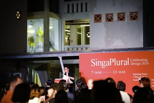 RAFFLES SINGAPORE는 SIGNAPLURAL 2016에서 디자인을 축하합니다!