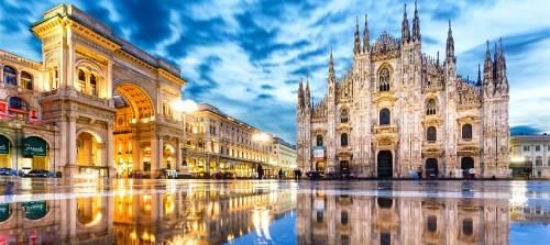 라플란드 패션 시장에 의해 밀라노, 이탈리아에서보고