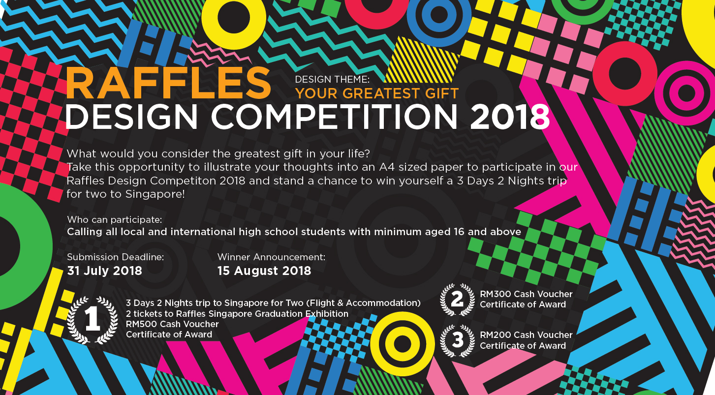 raffles iao - raffles design competition