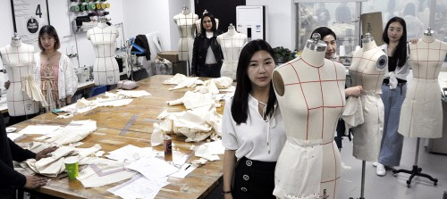 FASHION DESIGN OPEN HOUSE IN RAFFLES BEIJING