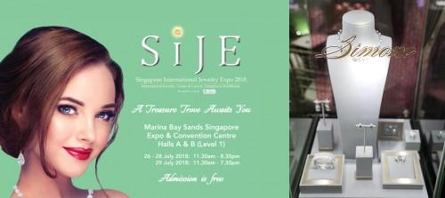RAFFLES SINGAPORE SHINES VỚI JEWELLERY SIMONE TẠI SINGAPORE QUỐC TẾ JEWELERY EXPO 2018